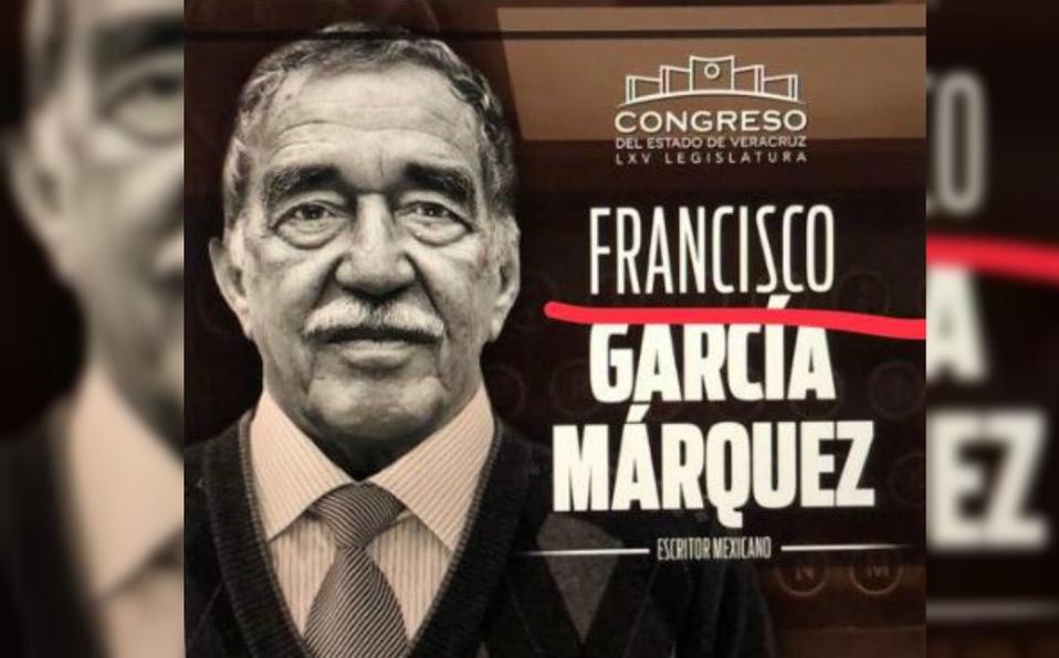 Congreso de Veracruz le cambia el nombre a García Márquez; internautas los critican