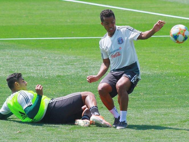 Giovani Dos Santos sorprende en práctica del Tricolor