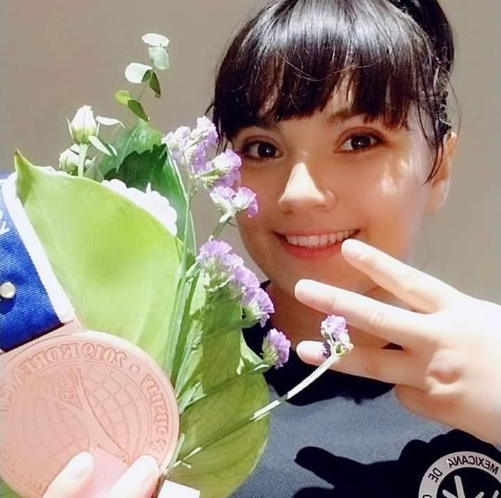 Alexa Moreno gana medalla de bronce en Copa Internacional de Corea