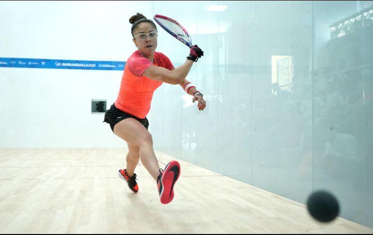 Paola Longoria festeja su título 100 en US Open