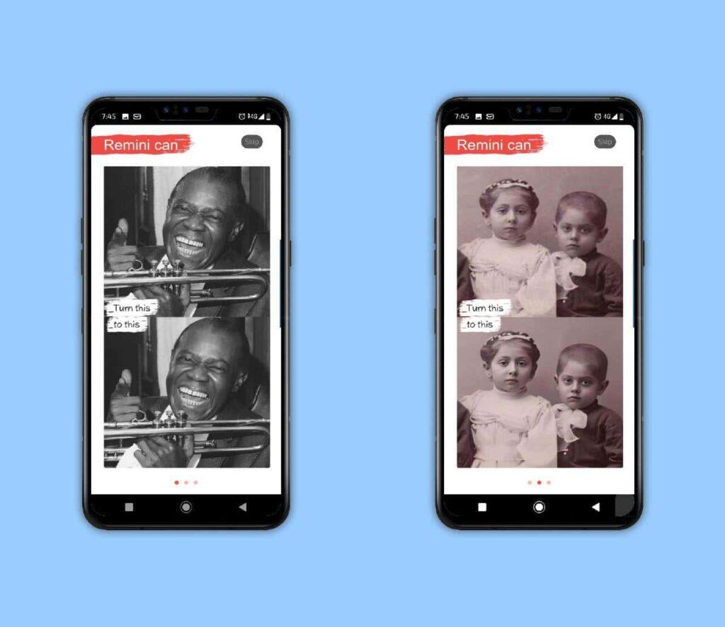 Esta app usa inteligencia artificial para restaurar fotografías
